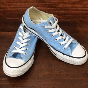 Converse Baby Blue Low Top Sneakers